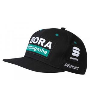 Bora Hansgrohe Sportful šiltovka čierna