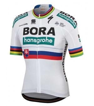 Bora Hansgrohe Sportful dres Petra Sagana Jr biely