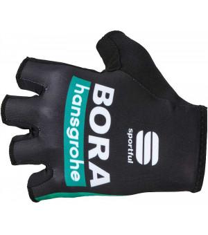Bora Hansgrohe Sportful Race Team rukavice čierne