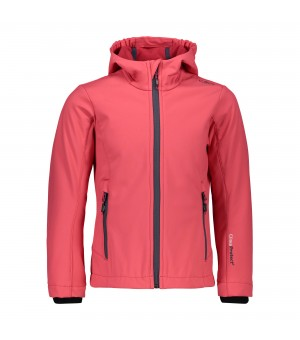 CMP GIRL JACKET SOFTSHELL BUNDA 28BH RUŽOVÁ