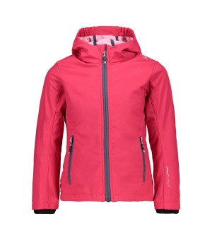 CMP GIRL JACKET SOFTSHELL BUNDA 29BH RUŽOVÁ