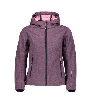 CMP GIRL JACKET SOFTSHELL BUNDA 10BL FIALOVÁ