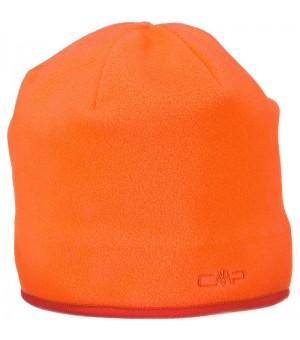 CMP Man Fleece čiapka oranžová