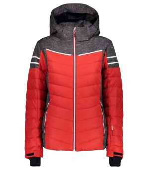 CMP WOMAN JACKET ZIP HOOD BUNDA