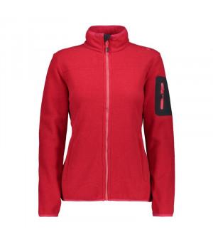 CMP Woman Jacket Mikina 15CC červená