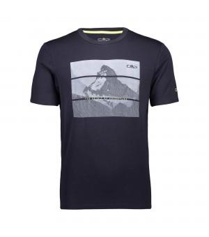 CMP Man T-Shirt tričko 48UC modré