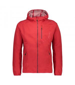 CMP Man Jacket Fix Hood Bunda C848 červená