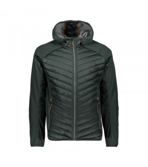 CMP Man Jacket Fix Hood Bunda U940 sivá