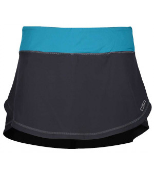 CMP Woman Skirt With Inner Shorts sukňa U423 sivá