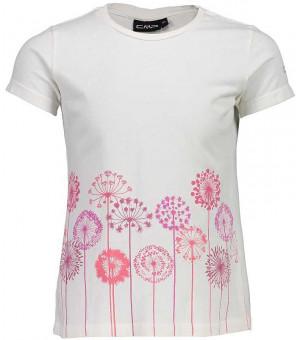 CMP Girl T-Shirt tričko biele A145