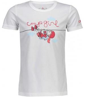 CMP Girl T-Shirt tričko biele A001