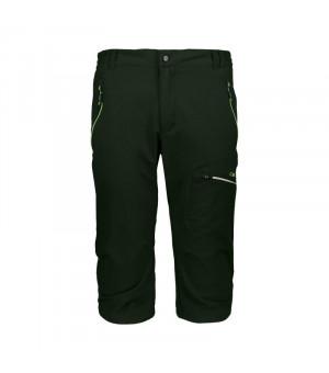 CMP Man Capri Nohavice U940 zelené