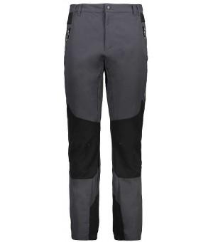CMP Man Long Pant turistické nohavice tmavosivé U423