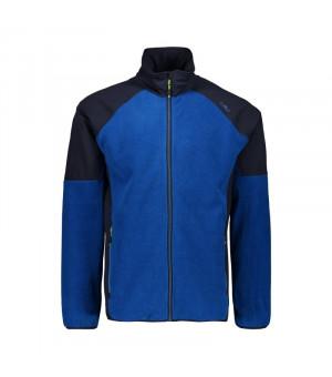 CMP Man Jacket Mikina 14LC modrá