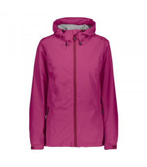CMP Woman Rain Jacket Fix Hood Bunda H820 ružová