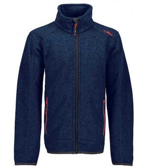 CMP Boy Jacket mikina 03AG modrá