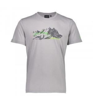 CMP Man T-Shirt Tričko U532 sivé
