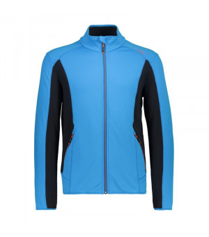 CMP Man Jacket Mikina M885 modrá