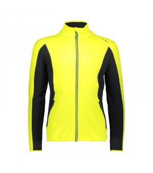 CMP Man Jacket Mikina R304 žltá