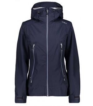 CMP Woman Jacket Fix Hood bunda N950 modrá