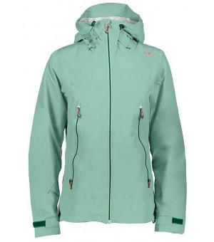 CMP Woman Jacket Fix Hood Bunda E560 zelená