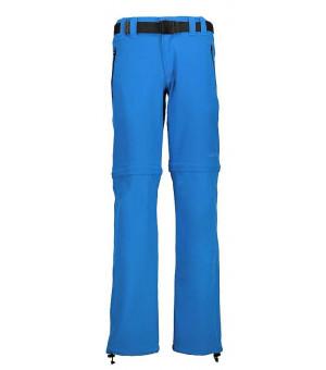 CMP Boy Pant Zip Off nohavice M885 modré