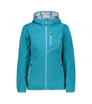CMP Woman Jacket Fix Hood Bunda L609 modrá