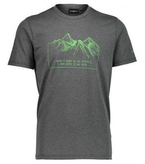 CMP Man T-Shirt tričko U939 zelené