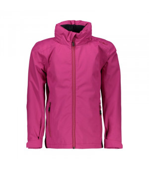 CMP Girl Jacket Zip Hood Bunda H820 ružová