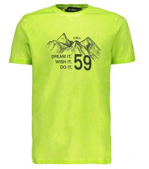 CMP Boy T-Shirt tričko E358 zelené