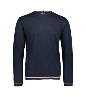 CMP Man Knitted Pullover N950 modrý