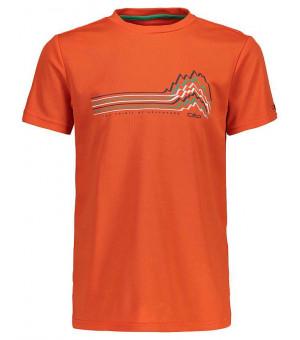 CMP Boy T-Shirt tričko C720 oranžové