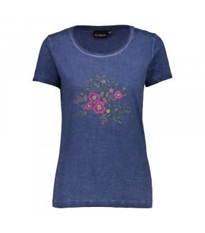 CMP Woman T-Shirt Tričko M919 modré