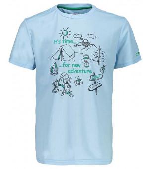 CMP Boy T-Shirt tričko L 301 modré