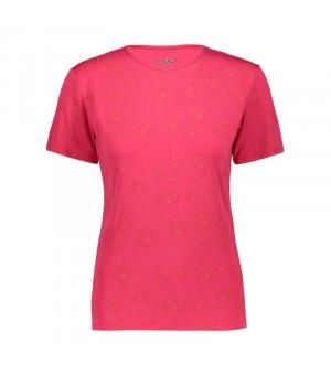 CMP Woman T-Shirt Tričko 32CC ružové