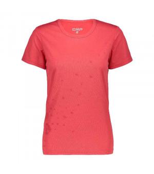 CMP Woman T-Shirt Tričko C712 červené