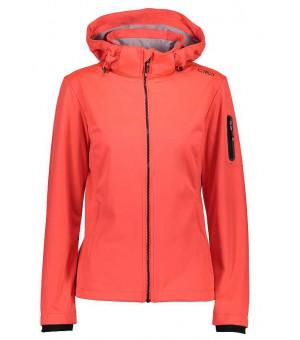 CMP Woman Jacket Zip Hood bunda C649 červená