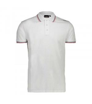 CMP Man Polo košeľa A001 biela