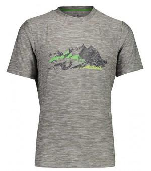 CMP Man T-Shirt tričko U 632 sivé