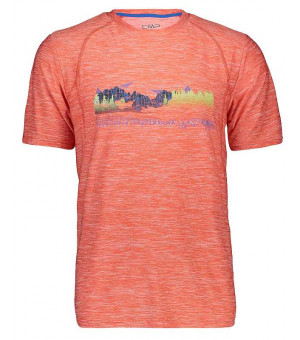 CMP Man T-Shirt tričko C 742 oranžové