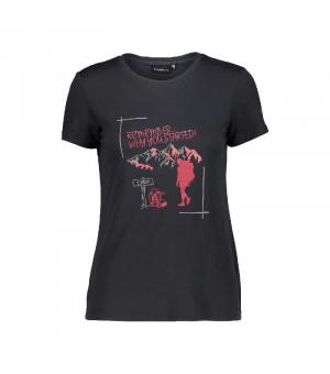 CMP Woman T-Shirt Tričko U423 sivé