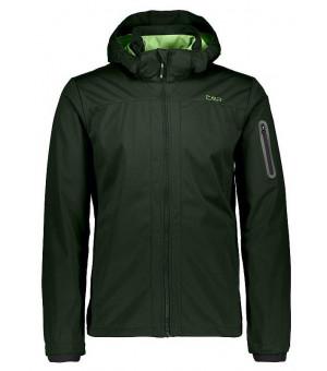 CMP Man Jacket Zip Hood bunda U940 zelená