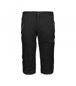 CMP Man Capri nohavice U901 čierne