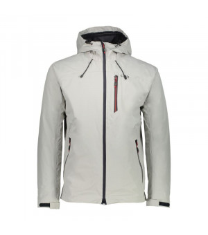 CMP Man Jacket Fix Hood Bunda U532 sivá