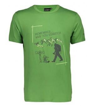 CMP Man T-Shirt tričko E626 zelené