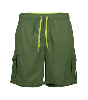 CMP Man Medium Shorts kraťasy E919 zelené