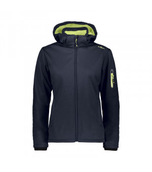 CMP Woman Jacket Zip Hood Bunda 05MC modrá