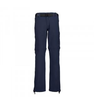 CMP Boy Pant Zip Off nohavice N950 modré