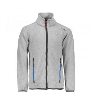 CMP Boy Jacket Mikina 06XC sivá