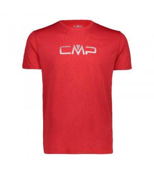 CMP Man T-Shirt Tričko C 580 červené